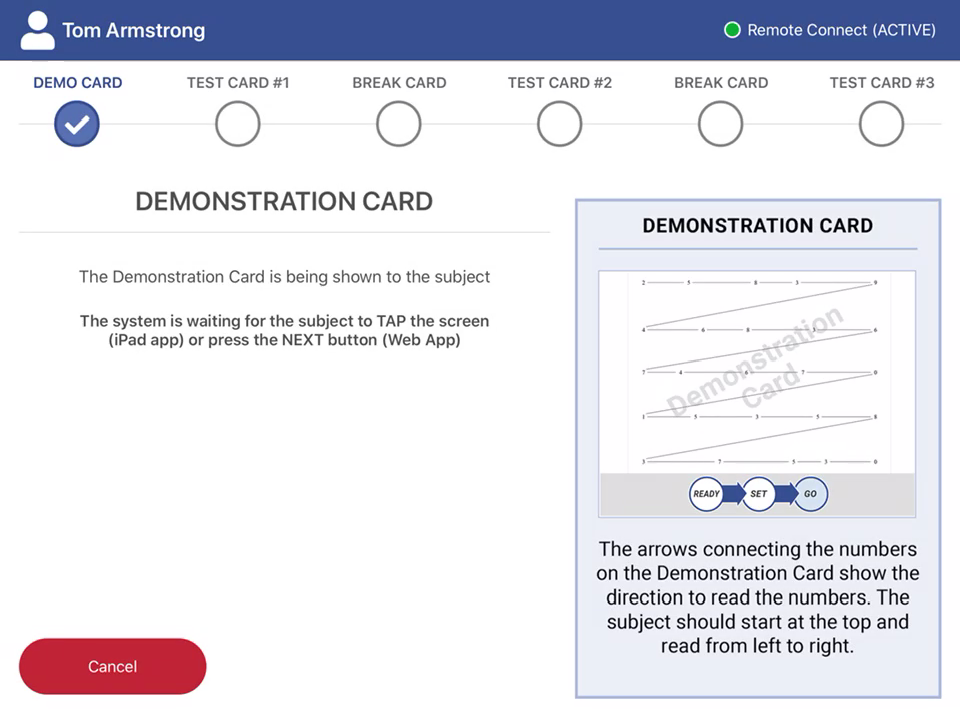 Remote admin Demo Card